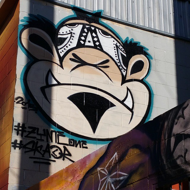 Cholo (gangster) monkey by Zyme One