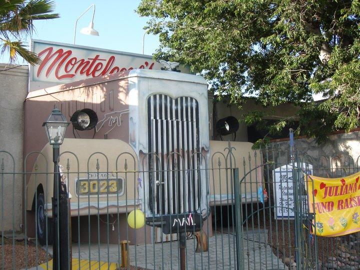 Outside Monteleone's