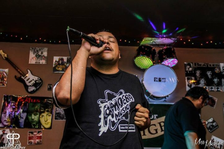 Zyme One performs at local pub.